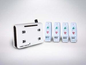 4 remote wireless calling system, FORBIX SEMICON