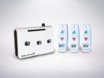 3 remote wireless service call button