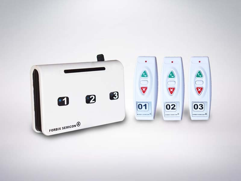 3 remote wireless service call button
