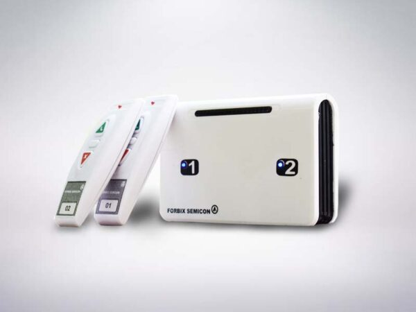 Emergency call bell for elderly, 2 remote wireless