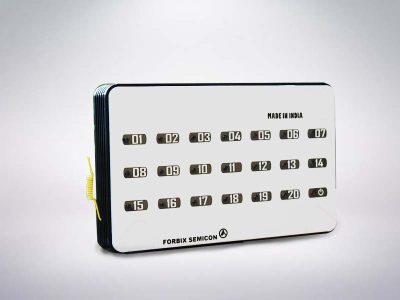 20 indicator wireless receiver, FORBIX SEMICON