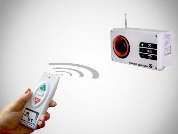 1 remote 1 siren, loud wireless panic alarm system