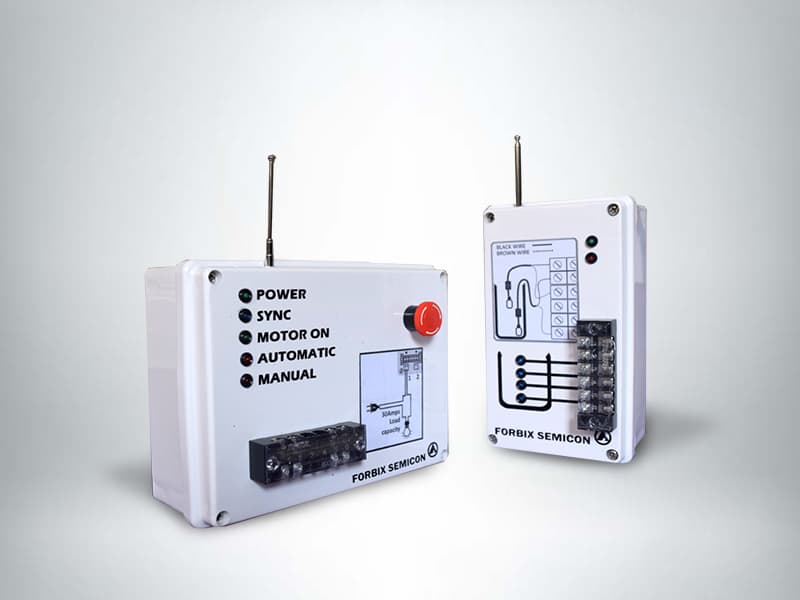 Wireless automatic water pump controller