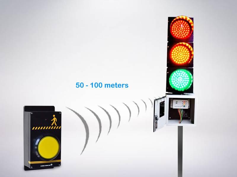 FORBIX SEMICON pedestrian crossing push button traffic light