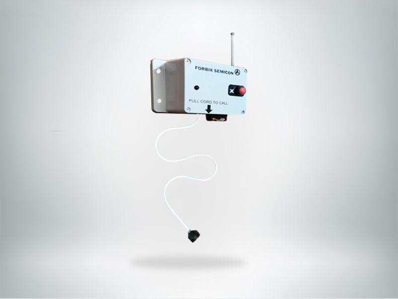Pull chord wireless nurse call button, FORBIX SEMICON