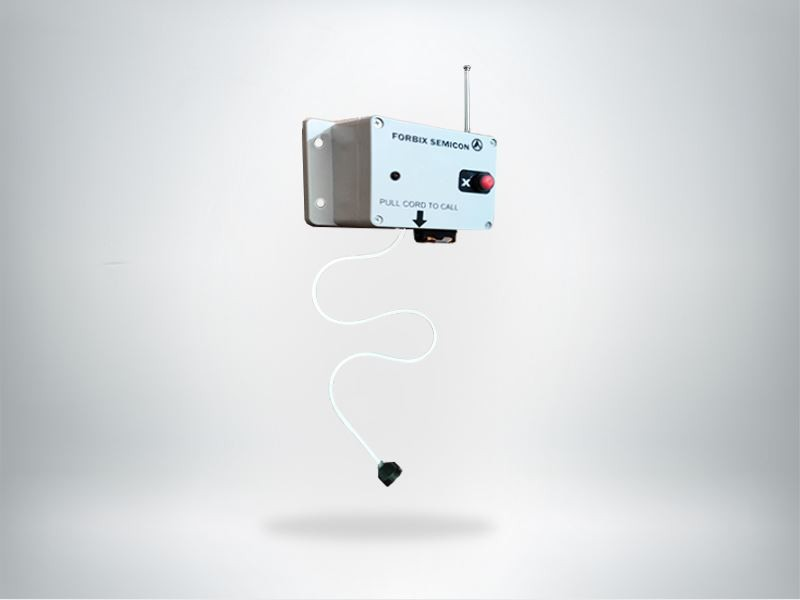 Pull chord wireless call button, FORBIX SEMICON