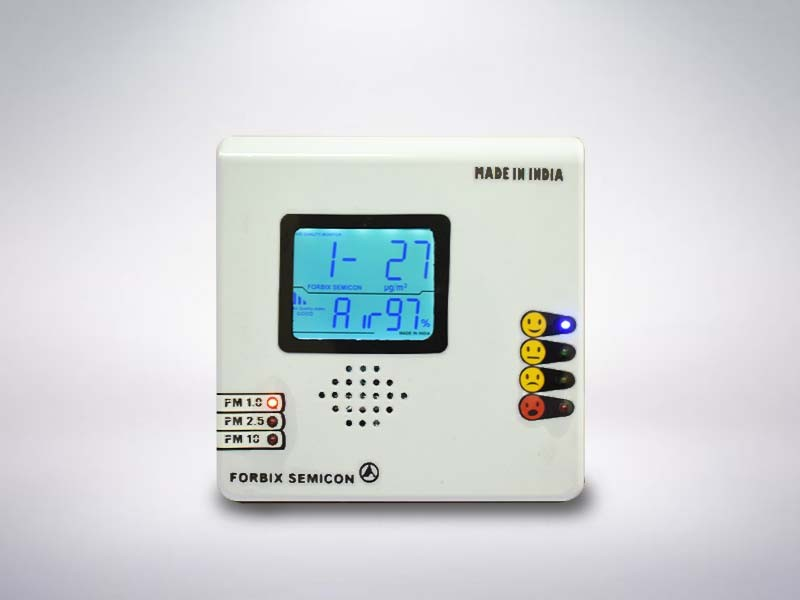 air-quality-monitor-dust-PM2.5-tabletop-FORBIX-SEMICON