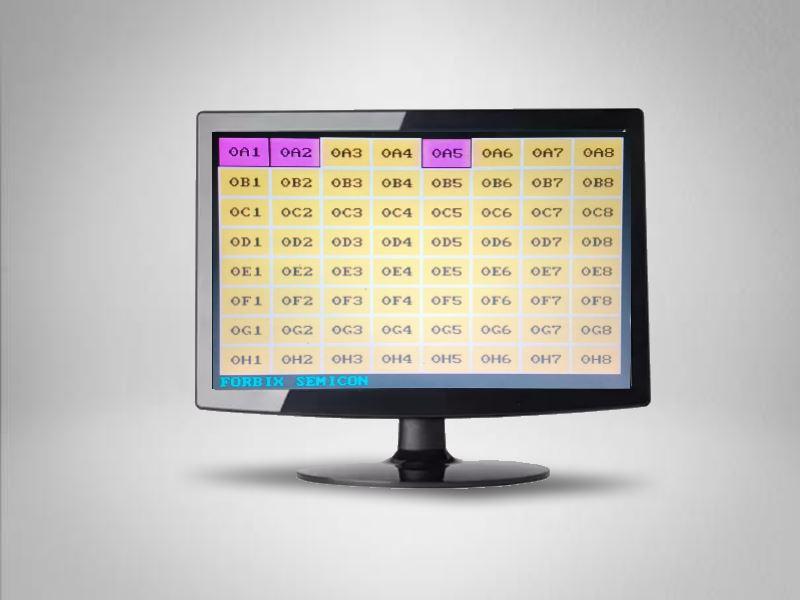 Nurse station display monitor, FORBIX SEMICON