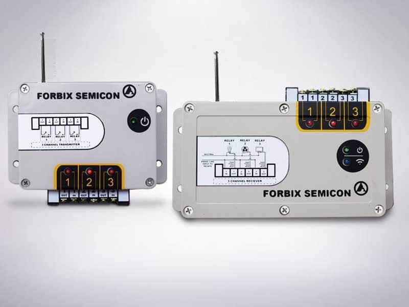 3 channel wireless transmitter receiver, FORBIX SEMICON