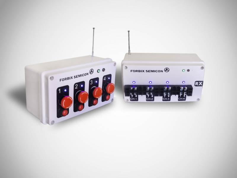 4 channel wireless transmitter receiver, FORBIX SEMICON